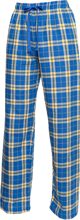 Hockinson Middle School School Unisex Custom Embroidered Flannel Pants