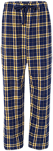 Seward High School Bluejays Unisex Custom Embroidered Flannel Pants