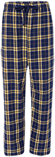 Maranatha Baptist Bible College Crusaders Unisex Custom Embroidered Flannel Pants