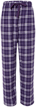 Anacortes High School Seahawks Unisex Custom Embroidered Flannel Pants