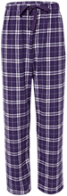 Big Sandy Lake School School Unisex Custom Embroidered Flannel Pants