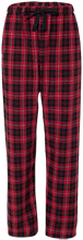Marion High School Hurricanes Unisex Custom Embroidered Flannel Pants