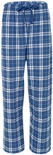 James T Alton Middle School Trojans Youth Custom Embroidered Flannel Pants