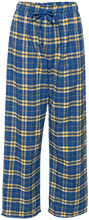 Malverne High School Unisex Custom Embroidered Flannel Pants