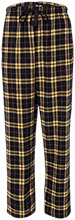 Lansing Eastern High School Quakers Youth Custom Embroidered Flannel Pants