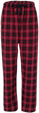 Meskwaki High School Warriors Youth Custom Embroidered Flannel Pants