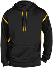 Aquinas High School Blugolds Tall Sport-Wicking 2-tone Pullover Hoodie