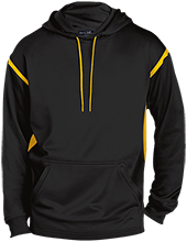 Downing School Lions Customized Mens Sport-Wicking 2-tone Pullover Hoodie