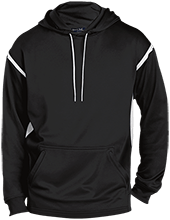 Fort Hill Elementary School Hawks Customized Mens Sport-Wicking 2-tone Pullover Hoodie