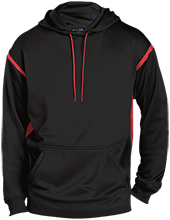 Design Yours Customized Mens Sport-Wicking 2-tone Pullover Hoodie