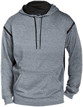 Capital Christian School Conquers Customized Mens Sport-Wicking 2-tone Pullover Hoodie