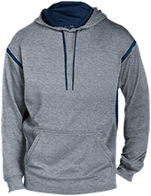 Bennett Woods Elementary School Trailblazers Customized Mens Sport-Wicking 2-tone Pullover Hoodie