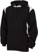 Ann Arbor Technical High School School Unisex Printed Shoulder Colorblock Pullover