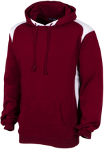 Milwaukie High School Mustangs Unisex Printed Shoulder Colorblock Pullover