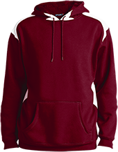 Okanogan High School Bulldogs Unisex Printed Shoulder Colorblock Pullover