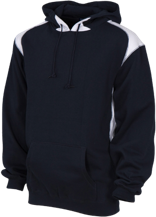 Martin Luther King Middle School Panthers Unisex Printed Shoulder Colorblock Pullover