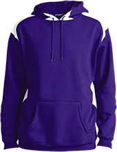 Waukee Middle School Warriors Unisex Printed Shoulder Colorblock Pullover