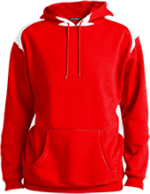 Calvert Hall College High School Cardinals Unisex Printed Shoulder Colorblock Pullover