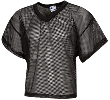 Football Kids Waist Length Mesh Practice Jersey