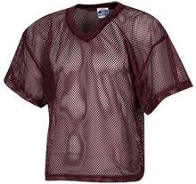 Bishop Watterson High School Eagles Kids Waist Length Mesh Practice Jersey