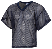 The Heritage High School Hawks Kids Waist Length Mesh Practice Jersey