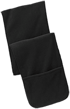 Friendtek Game Design Fleece Scarf with Pockets