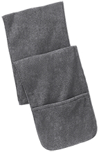 EVIT Fleece Scarf with Pockets