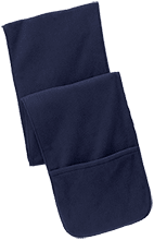 Team Granite Arch Rock Climbing Fleece Scarf with Pockets