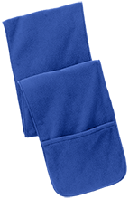 Shore Regional High School Blue Devils Fleece Scarf with Pockets