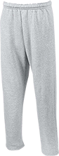 Kickboxing Open Bottom Sweatpants with Pockets