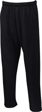 A G Curtin Middle School Open Bottom Sweatpants with Pockets