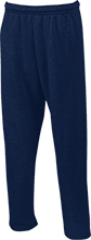 Logos School Knights Open Bottom Sweatpants with Pockets