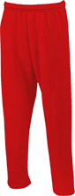 Saint Matthew Lutheran School Cardinals Open Bottom Sweatpants with Pockets