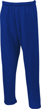 Lasalle II Falcons Open Bottom Sweatpants with Pockets