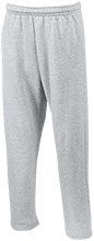 Basketball Open Bottom Sweatpants with Pockets