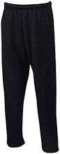 Zeh School Zebras Open Bottom Sweatpants with Pockets