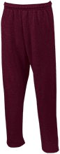 West Side Pirates Athletics Open Bottom Sweatpants with Pockets