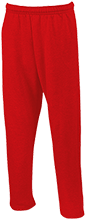 North Sunflower Athletics Open Bottom Sweatpants with Pockets