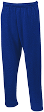 Saint Anthony School Hawks Open Bottom Sweatpants with Pockets
