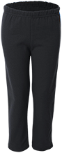 Buffalo County District 16 School Black Panthers Youth Open Bottom Sweat Pants