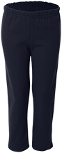 Round Lake Middle School Wildcats Youth Open Bottom Sweat Pants