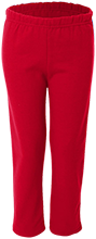 Hoboken High School Red Wings Youth Open Bottom Sweat Pants