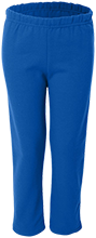 Dickinson Elementary School Cowboys Youth Open Bottom Sweat Pants