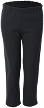 Sunrise Middle School Flames Youth Open Bottom Sweat Pants