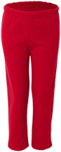 Saratoga School Bulldogs Youth Open Bottom Sweat Pants