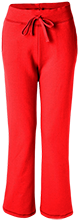 Parkersburg Elementary School Falcons Ladies Open Bottom Sweatpants with Pockets