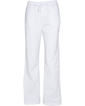 Herbert Hoover Elementary School School Women's Open Bottom Sweatpants with Pockets