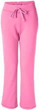 Anniversary Ladies Open Bottom Sweatpants with Pockets