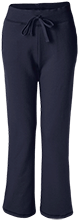 Parkway Christian Academy Flames Ladies Open Bottom Sweatpants with Pockets