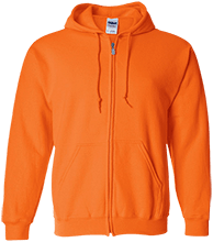 John Simpson Middle School Tygers Embroidered Zip Up Hoodie